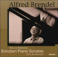 Schubert: Piano Sonatas, D575, 894, 959 & 960 (CD, Jan-2001, 2 Discs, Philips)