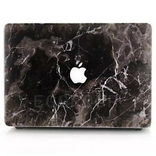 "For MacBook Pro 13.3"" A1278 Black Marble Paint Hard Shell Protect Case Cover HOT"