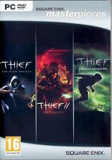 Thief: The Complete Collection PC NEW Dark Project II 2 Metal Age Deadly Shadows