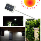 Solar Powered LED Wall Street Light Garden Lamp Outdoor Road Waterproof Pathway