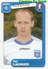 035 YANN LACHUER FRANCE AJ AUXERRE PSG STICKER FOOT 2005 PANINI