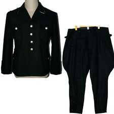 CollectableWW2 WWII German Elite M32 Officer Wool Uniform Tunic & Breeches