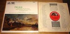 JACQUELINE DU PRE SARGENT DELIUS S/C SEMI-CIRCLE NIPPER STEREO HMV ASD 644 LP