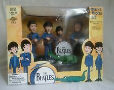 McFarlane BEATLES Deluxe box set + crocodile Saturday Morning Cartoon figures