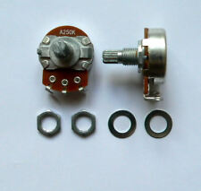 A250K 2 pot set for Fender Telecaster guitar Tele log potentiometer tone volume