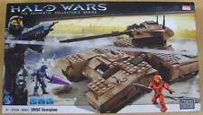 MEGA BLOKS HALO WARS 96807 UNSC SCORPION  278PCS