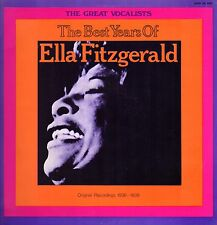 ELLA FITZGERALD - The Best Years 1971 JAZZ  (Vinile=M / Cover=NM) LP 12""
