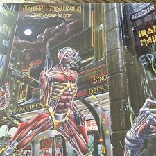"IRON MAIDEN ""SOMEWHERE IN TIME"" 180 Gram Vinyl LP Reissue - New & Sealed"