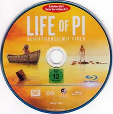 Life of Pi - Schiffbruch mit Tiger - BluRay - ohne Cover