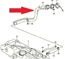 Brand NEW Genuine Suzuki Swift 05 11 Petrol Fuel Filler Pipe 89201-62J11 INSTOCK