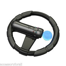 Steering Racing Wheel PS Move Motion Controller Joypad for Sony PS3 Racing Game