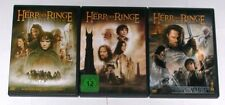 DVD Sammlung DER HERR DER RINGE 1-3 (1 + 2 + 3)/ Komplett Deutsch