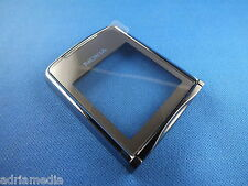 Original Nokia 8800 Sirocco Silber Oberschale Front A Cover Display Glas Schale