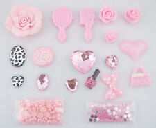 Hot 3D Bling pink bow DIY Cell Phone For iPhone4 Case - Deco Den Kit sj3