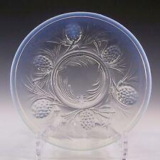 Jobling Art Deco Opaline/Opalescent Glass Fircone Plate #2