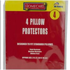 4 x PILLOW PROTECTORS PILLOW COVERS For Bed Room
