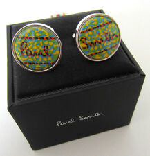 Paul Smith Cufflinks Paul Smith Signature Face T-BAR CUFFLINKS