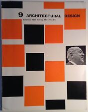 Architectural Design #9 September 1959 - Scarce - Mies- Lake Shore Drive Apts.