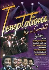 Temptations: Live in Concert (2002, REGION 1 DVD New)