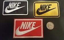 Lot of 3 Nike iron on patches new  Lot