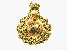 ROYAL MARINES COMMANDO KC CLASSIC GENUINE REGIMENTAL LICENSED CAP BADGE