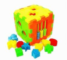 Colorful Block Magic Cube Toys Baby Educational Great Shape Sorting Kid Gift