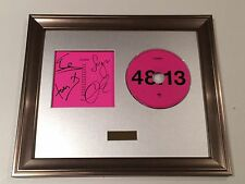 PERSONALLY SIGNED/AUTOGRAPHED KASABIAN - 48:13 CD FRAMED PRESENTATION. RARE