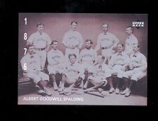 1994 Upper Deck ALBERT G SPALDING American Epic Ken Burns Baseball Card