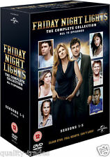 ❏ Friday Night Lights Series 1 - 5 DVD Complete Seasons + BONUS EXTRAs ❏ 2 3 4