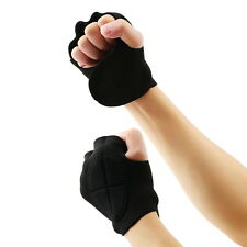 Soft Men women Elastic Sport Gloves Gym Weight Lifting Fitness Sports New FT