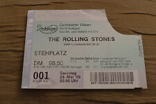 TICKET ROLLING STONES 1999 GERMANY