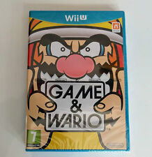 Game & Wario  - Wii U Game - Sealed New - Complete