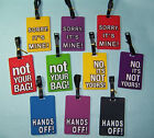 Luggage Tag Bag Baggage Suitcase Travel ID Name Address Holder