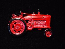 """JJ"" Jonette Jewelry Pewter 'RED Tractor ~ Farming Equipment' Pin"