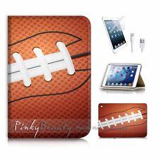 iPad Mini Gen 4 Flip Wallet Case Cover! P1483 American Football