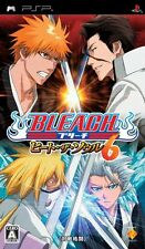 Used PSP Bleach: Heat The Soul 6 Japan Import ((Free shipping))