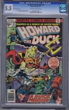 HOWARD THE DUCK 14 RARE 35 CENT PRICE TEST VARIANT CGC 5.5 .35 MARVEL