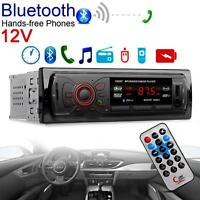Useful Car Bluetooth Stereo Audio 1 DIN In-Dash FM Aux Input SD USB MP3 Radio