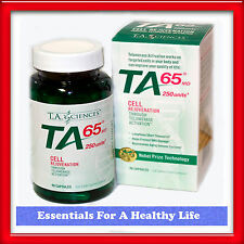 TA-65 250 Units 90 Capsules Telomerase Activation Technology