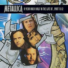 Year & A Half In The Life Of Metallica Part 1 & 2 (2014, REGION 1 DVD New)