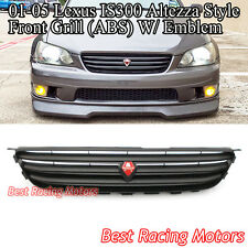Altezza-Style Front Grill (Black) Fits 01-05 Lexus IS200/IS300 4/5dr