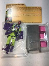 GI Joe Cobra SDCC 2012 Transformers Crossover Decepticon B.A.T. BAT