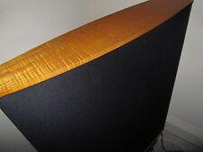 QUAD ESL63 ESL 63 black cloth light wood top &base UK Warranty WW delivery boxes