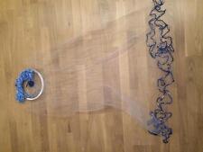 Nr.5, Fischnetz 3,05m Durchmesser, Cast Net,Wurfnetz, Profi-Wurfnetz Neues Model