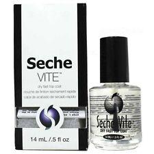 Seche Vite Dry Fast Nail Top Coat 0.5oz / 14ml USA 83100