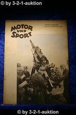 Motor und Sport 5/40 Pössneck 4.2.1940 Heft 5 Triumph BD 250