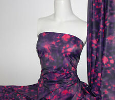 Tie Dye Print Poly/Spandex 4 way stretch Matt Finish Fabric