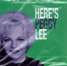 CD NEU/OVP - Peggy Lee - Here's Peggy Lee - Original Artist - Original Recording