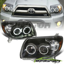 [CCFL Halo] 2006 2007 2008 2009 Toyota 4Runner LED Projector Black Headlights