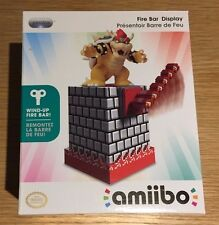 PDP Officially Licensed Nintendo Amiibo Wind Up Spinning Fire Bar Display Stand